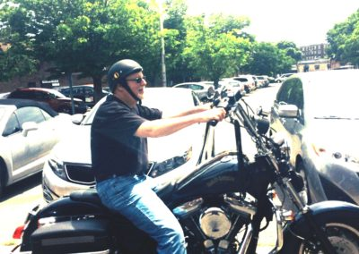 Massachusetts Motorcyclist Survivor Fund event, 1996
